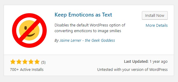 How to Disable WordPress Emoticons